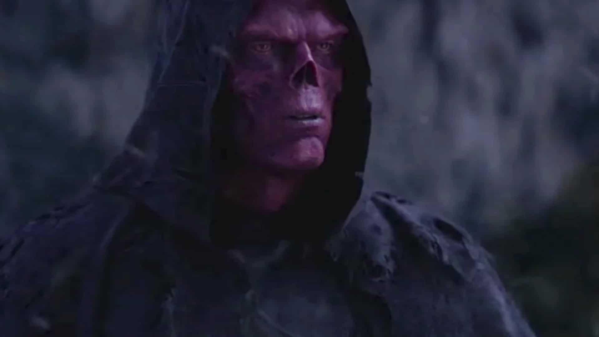 Avengers: Infinity War Concept Artist Unveils High Tech Take on Red Skull's Vormir Look!