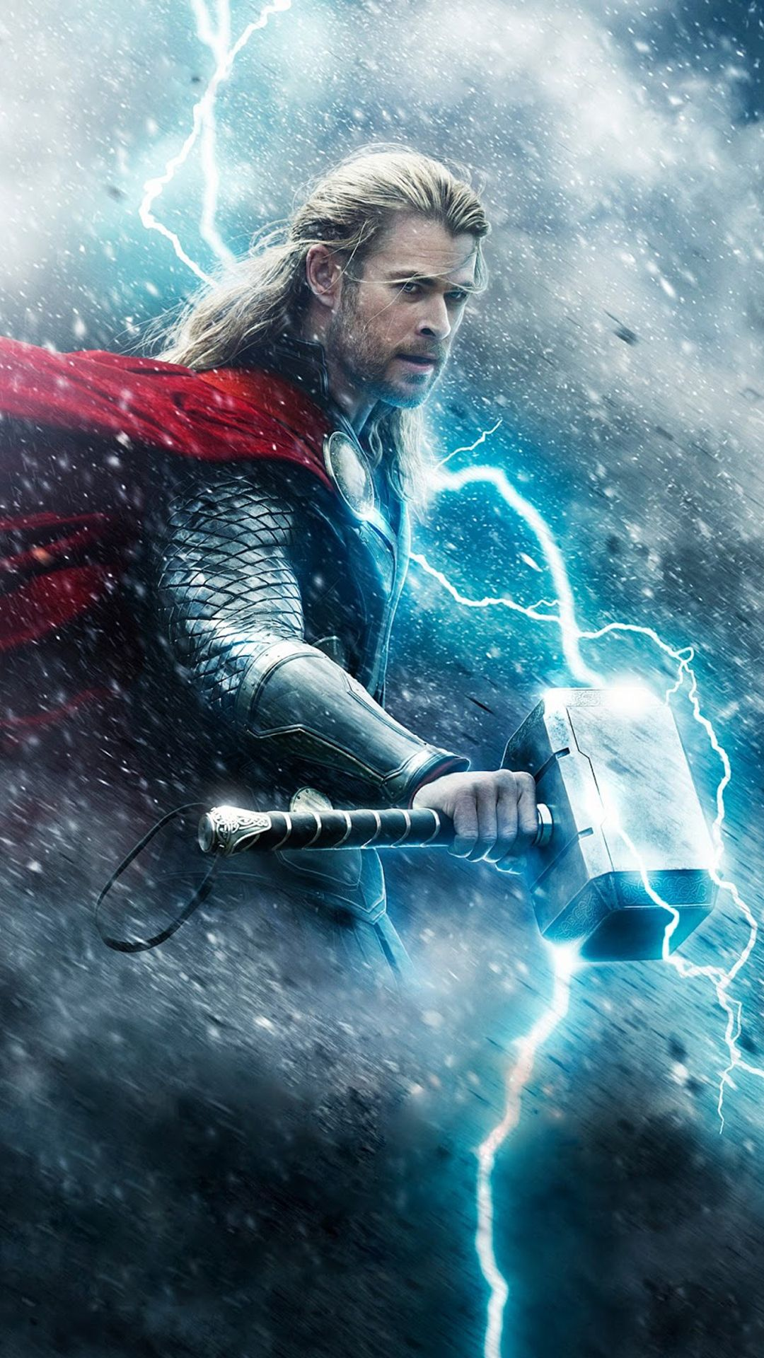 Thor with his hammer