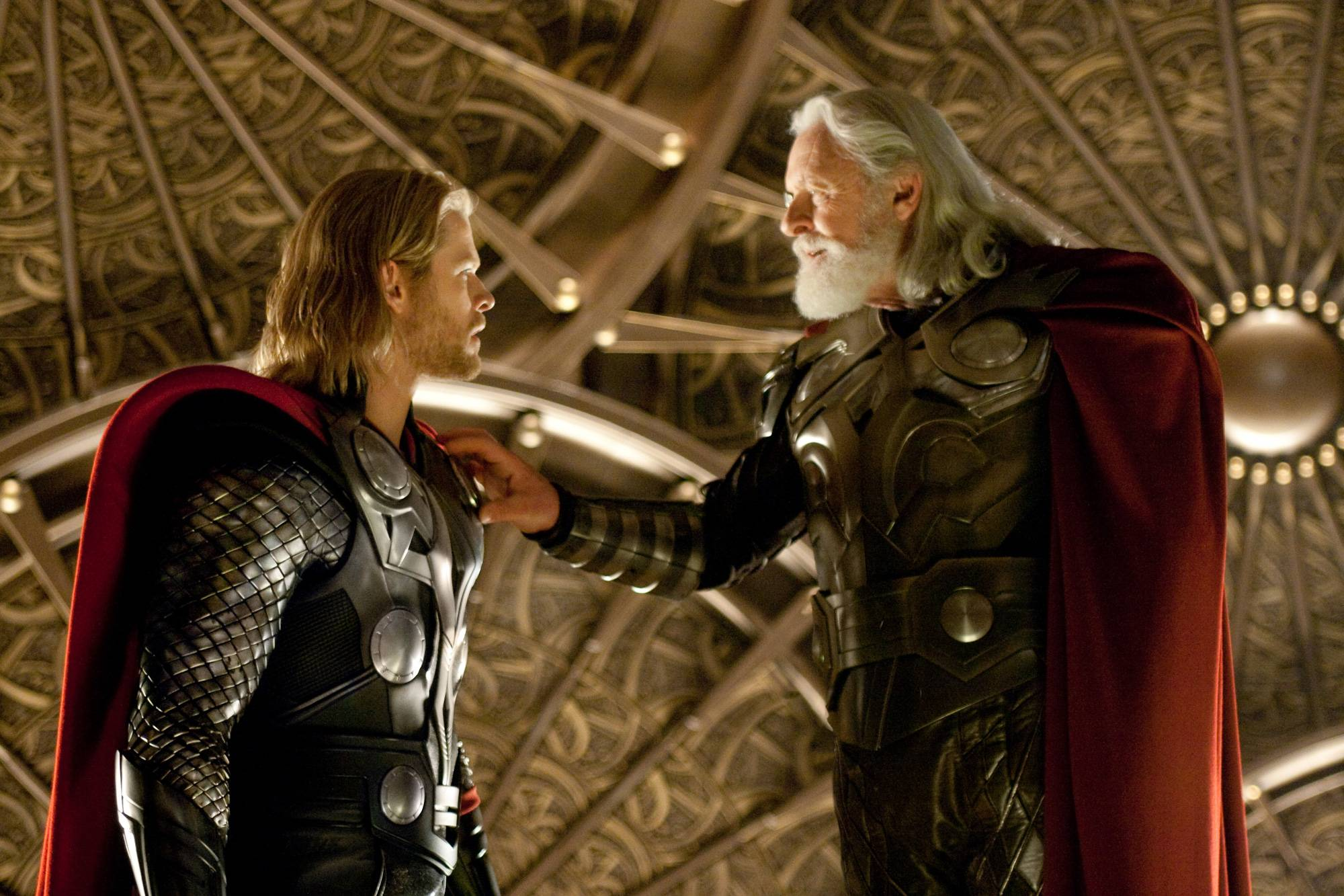 Pictorial representation of Odin and the most powerful Thor.
