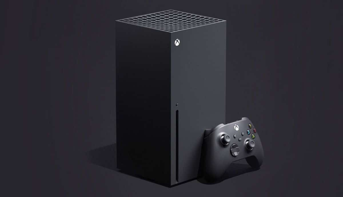 Xbox Series X's first leaked photo.