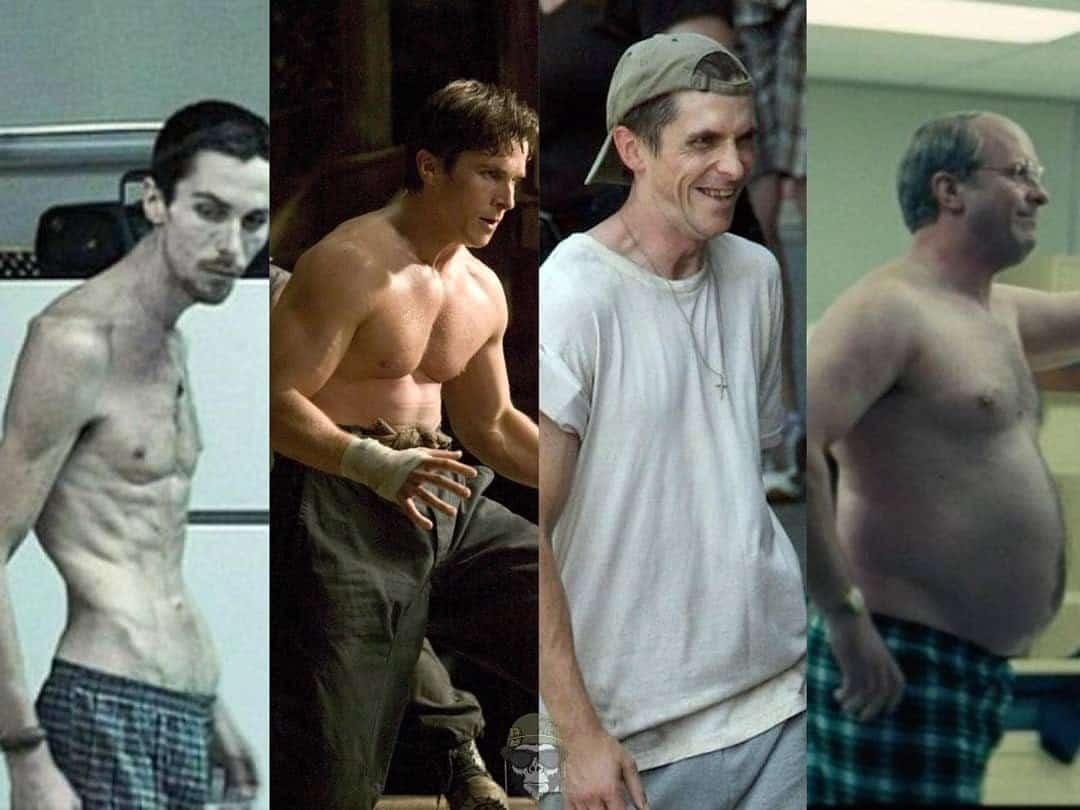 Cristian Bale body transformation
