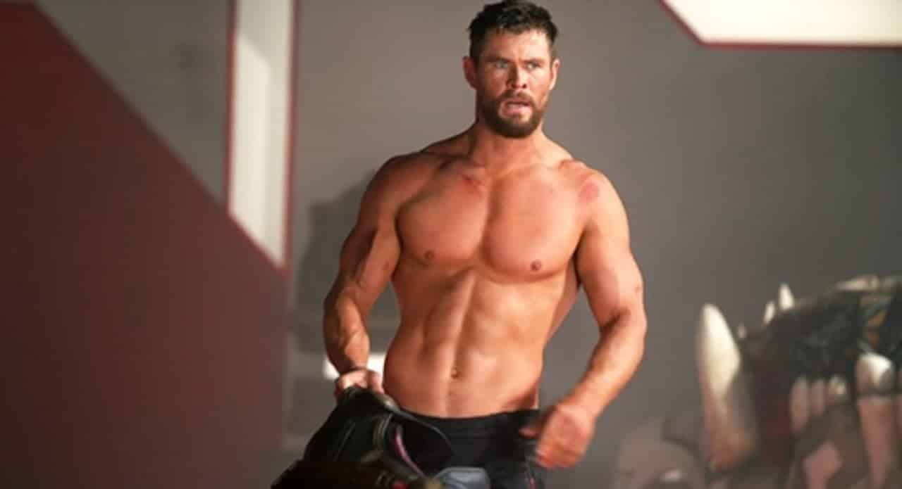 Chris Hemsworth giving fitness goals