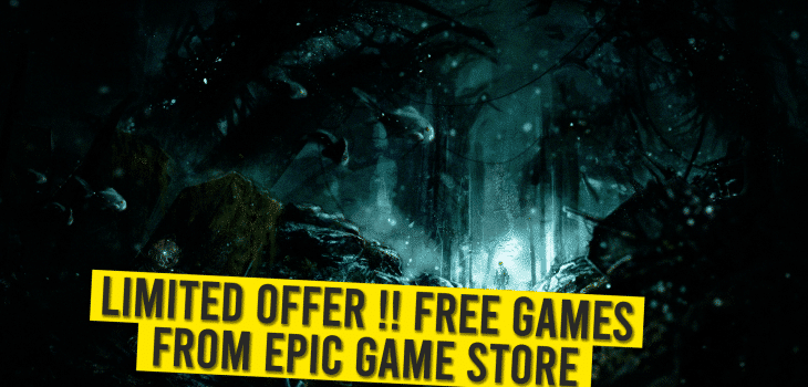 Free games from Epic game store