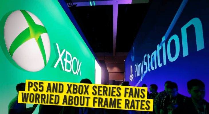 Frame rates in PS5 and XBOX