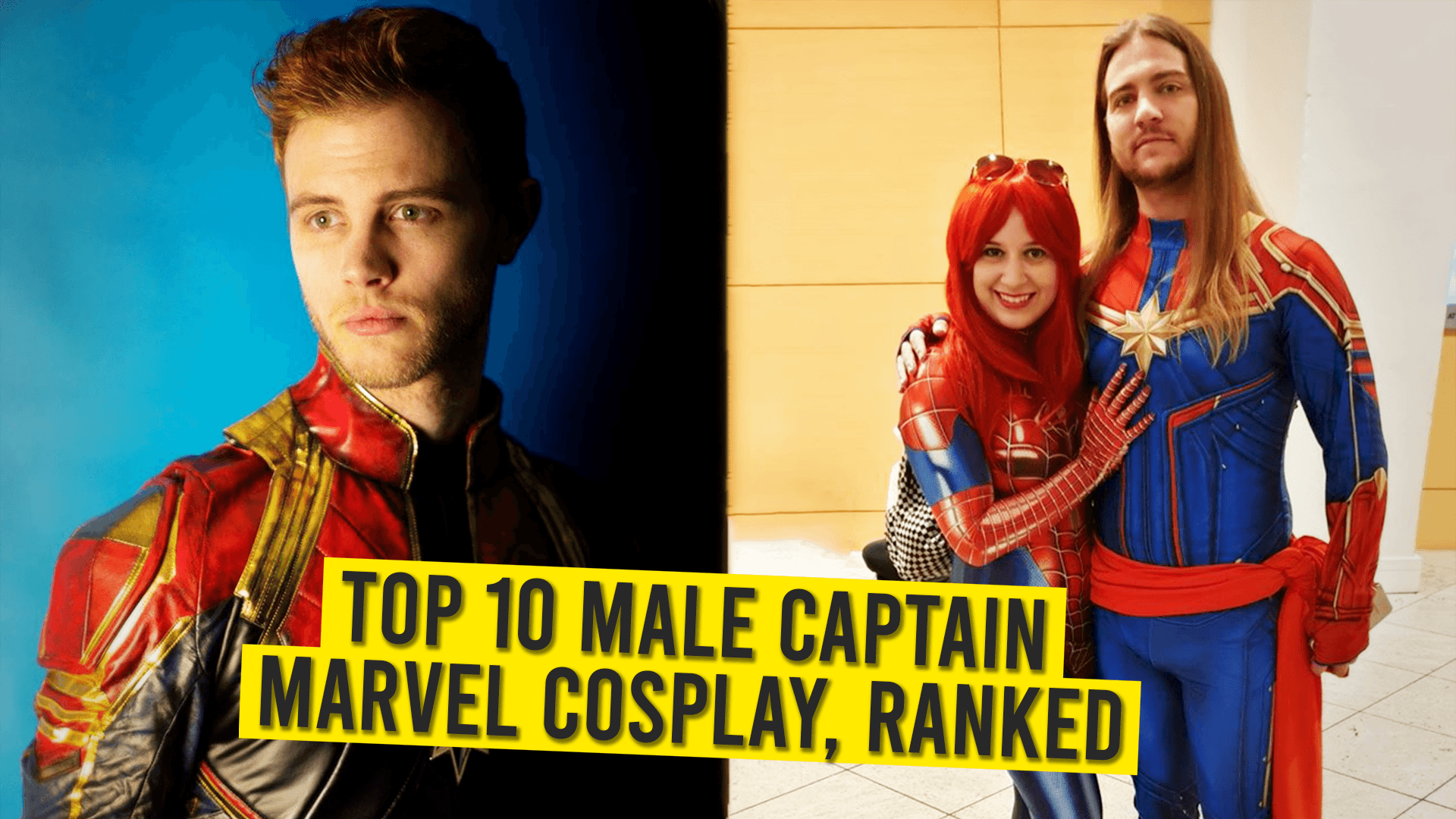 Top 10 Male Captain Marvel Cosplay Ranked Animated Times Buy marvel costumes, become a new hero in the life of a certain character. top 10 male captain marvel cosplay