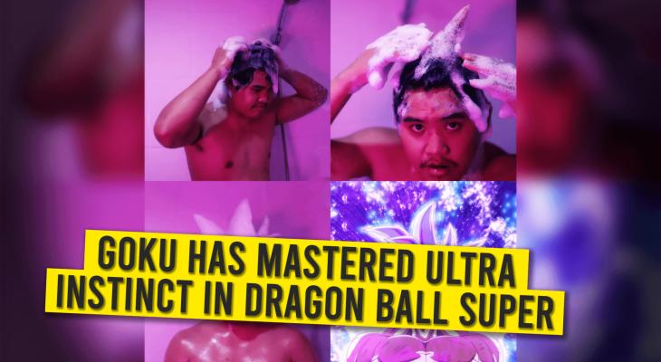 Goku's Ultra Instinct In Dragon Ball Super