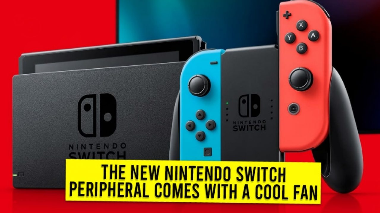 The New Nintendo Switch Peripheral Comes With A Cool Fan