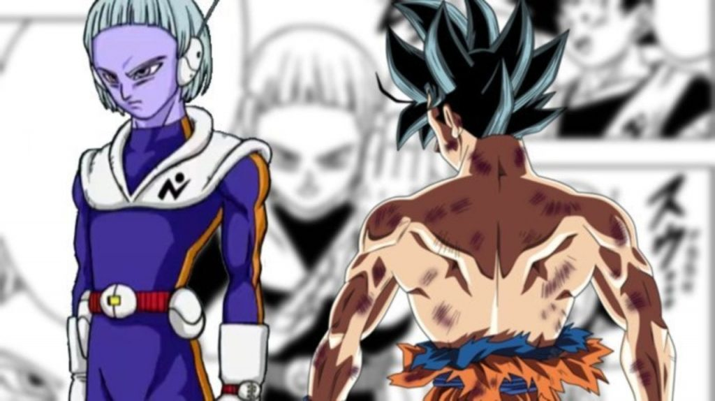Goku training with Merus