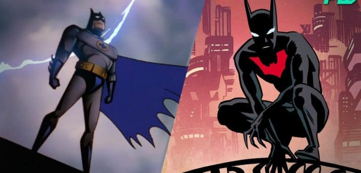 Batman Set To Fight Batman Beyond