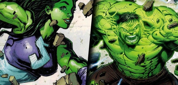Hulk and She-Hulk
