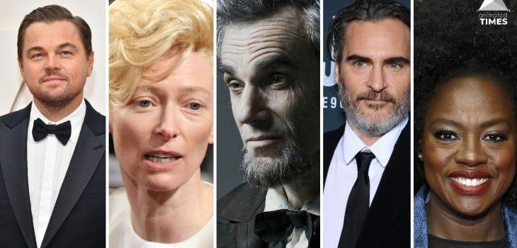 Collage of actors with zero bad performance