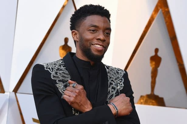 Chadwick Boseman at the Oscars