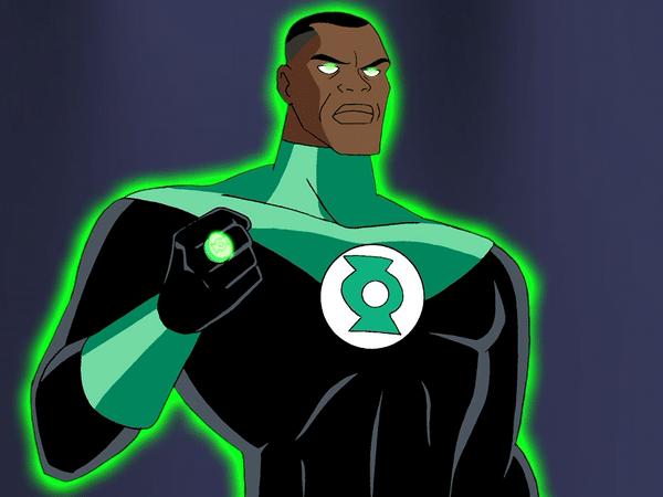 Justice League chose John Stewart as their Green Lantern