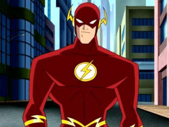 Wally West's Flash in Justice League
