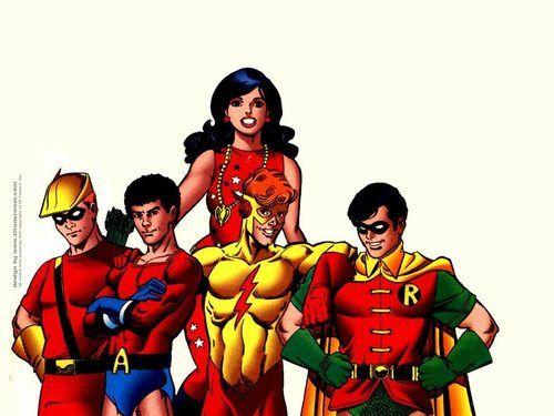 No Sidekicks in Justice League