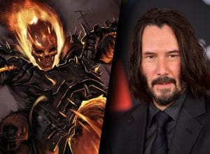 Keanu Reeves for Ghost Rider