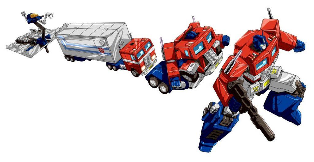 Optimus Prime 13 transformations