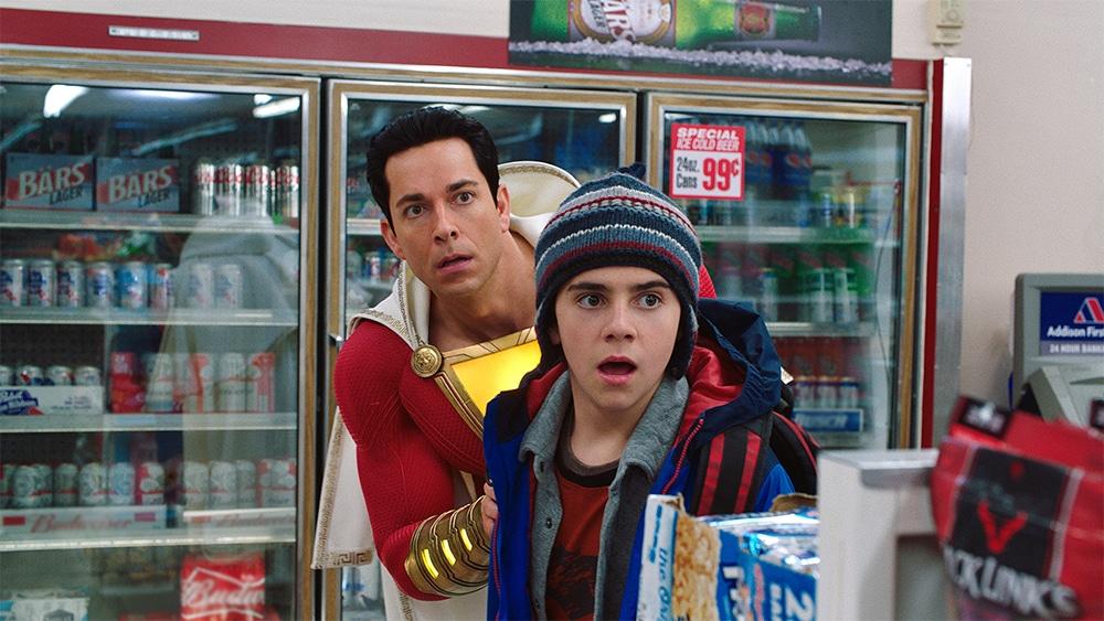 Billy and Freddie in Shazam