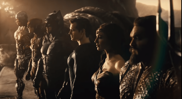 Justice League members from Snyder Cut
