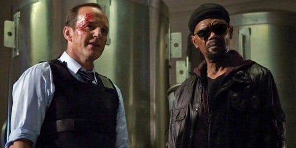 Nick Fury in Agents of SHIELD