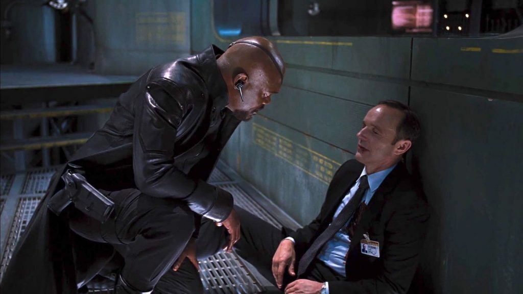 Coulson dies in The Avengers before revival in Agents of SHIELD