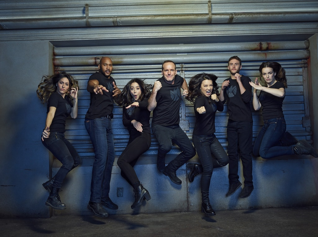 The Cast of Agents of SHIELD
