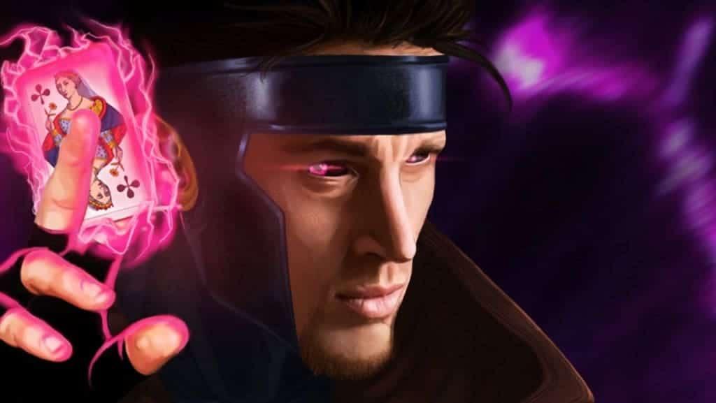 gambit holding card