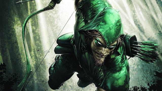 green arrow jumping