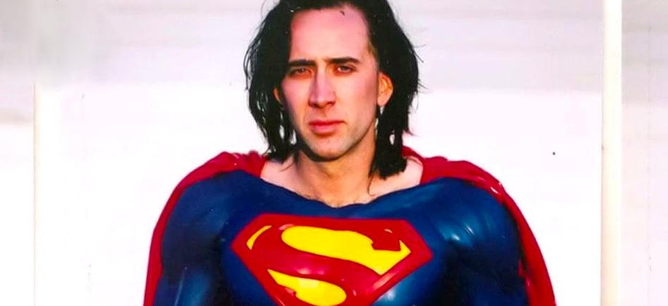 nicholas cage as superman