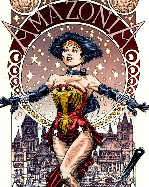 elseworlds amazonia wonder woman Diana_Earth-34