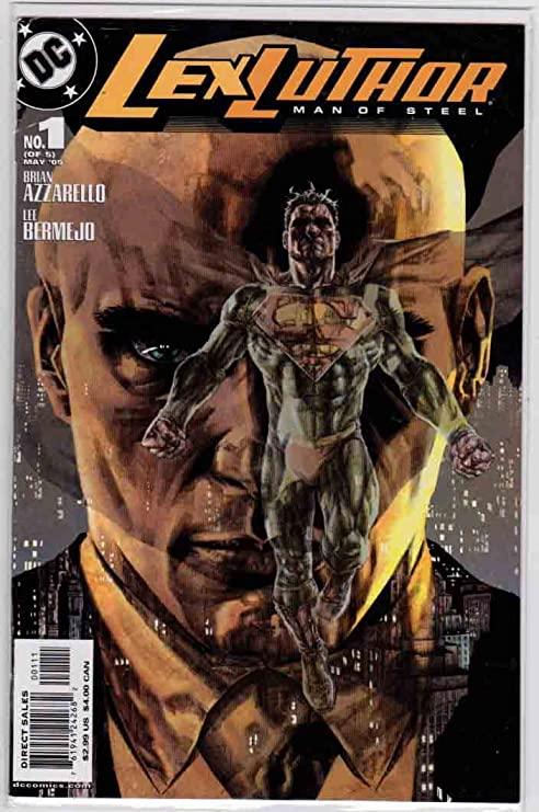 esleworlds lex luthor man of steel #1