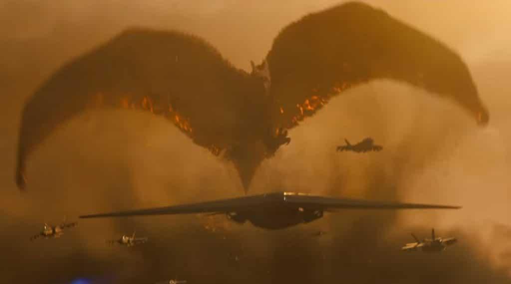 godzilla vs Kong rodan flying