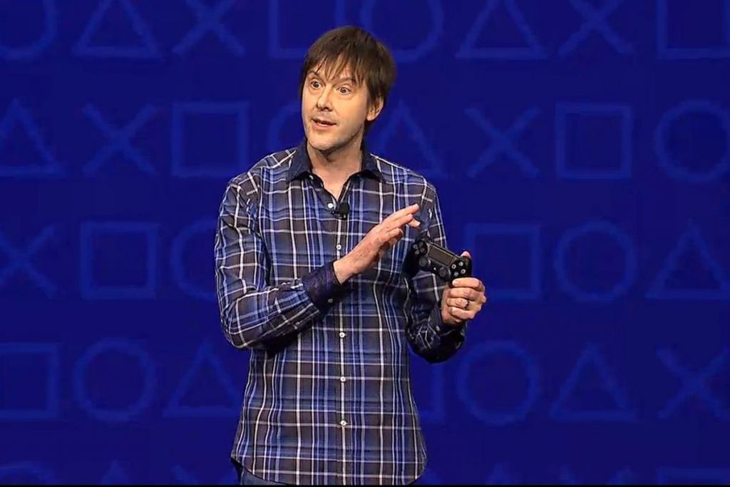 Mark Cerny presenting PS5