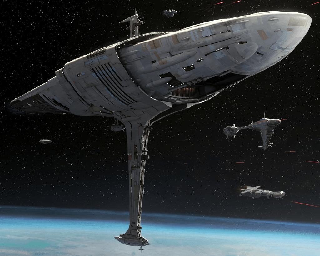 Profundity Warship in Star Wars