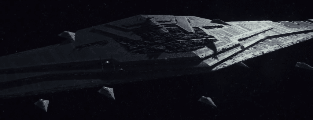 warships on the star wars
