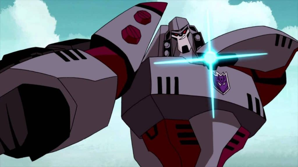 transformers megatron animated series sumdac isaac