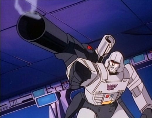 transformers megatron g1 animated series classic