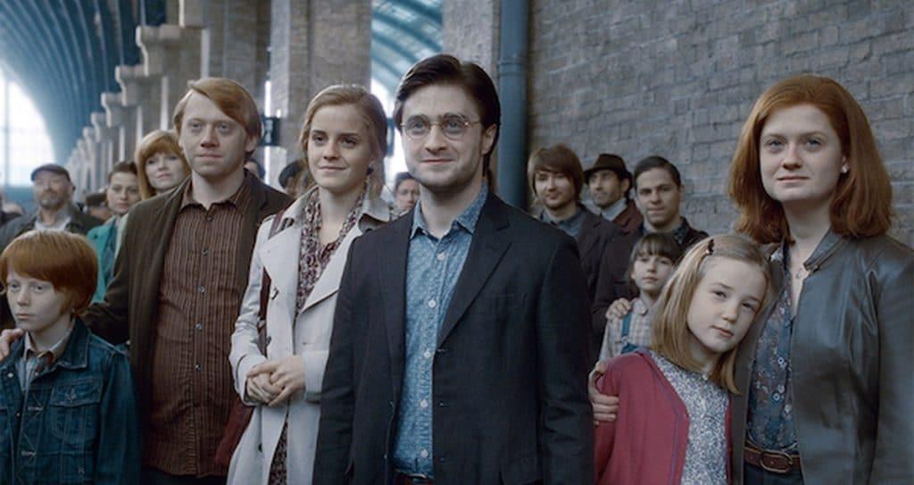 Harry Potter Saga Ending Scene