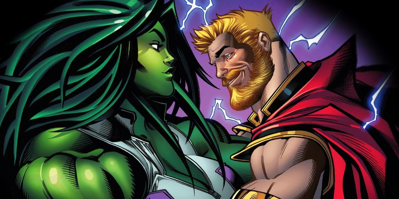 Thor and She-Hulk