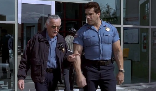 Lou Ferrigno's cameo