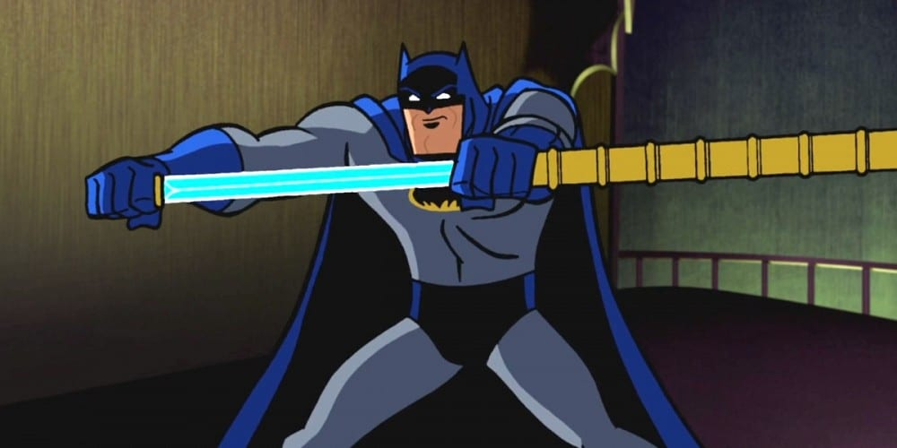 Batman with Bat Sword