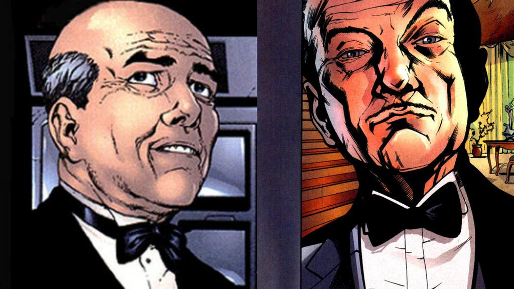 Edwin Jarvis vs. Alfred Pennyworth