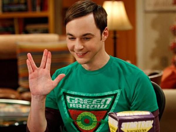 Parsons plays Sheldon Cooper