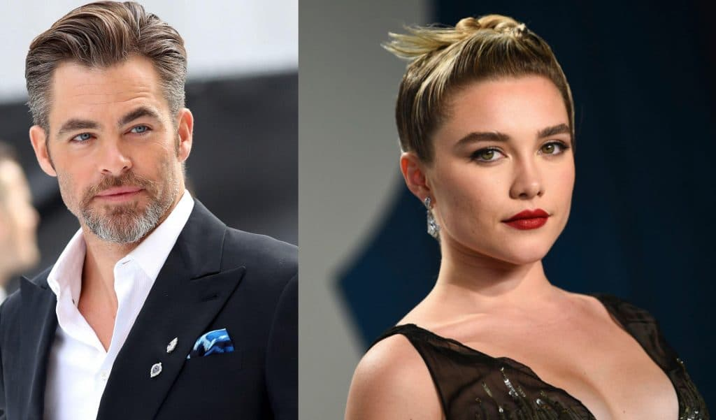 Chris Pine and Florence Pugh star in Wilde's next directorial venture