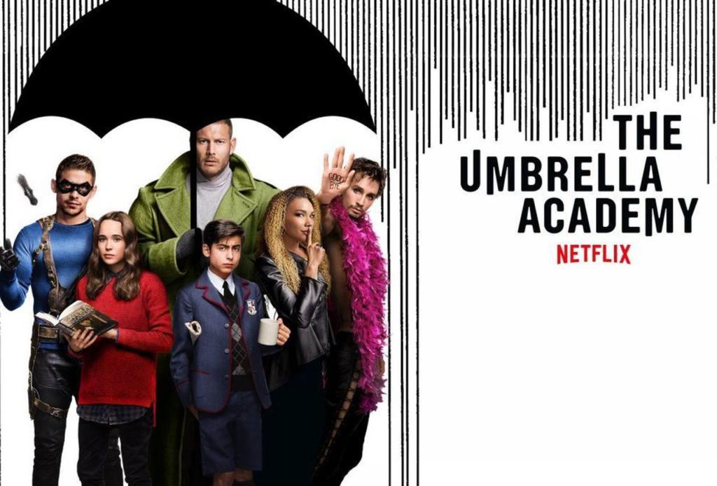 The Umbrella Academy on Netflix
