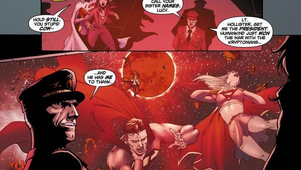 Superman under Red Sun Radiation
