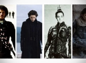 Lead cast of dune then and now