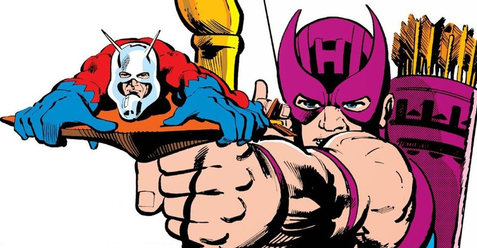 Hawkeye and AntMan