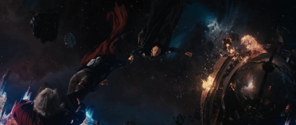 Loki vs Mysterio loki death thor 1