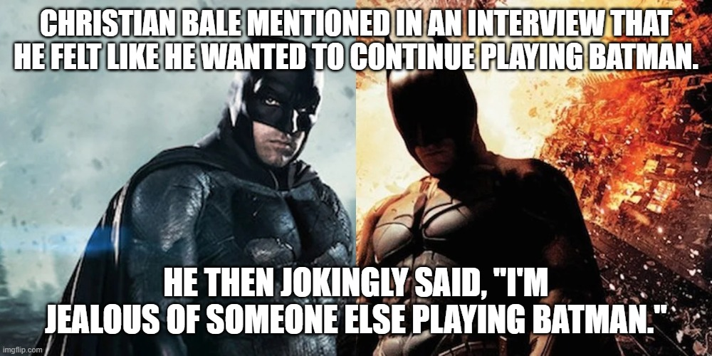 bve ben affleck bale batman